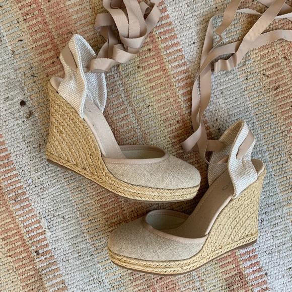 2bb9b4d20 Aldo Shoes | Craver Lace Up Espadrille Wedges | Poshmark